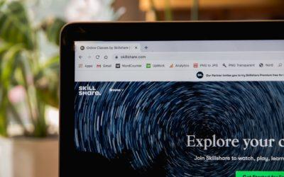 Progress about the e-learning platform